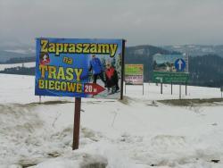 Zdjęcie przedstawia Przełęcz Snozka - reklamy w tej okolicy wyróżniono w konkursie Miastoszpeciciel