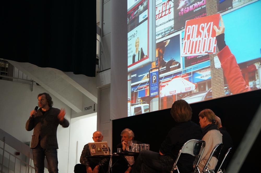 Debata podczas festiwalu Warszawa w Budowie (2012), fot. MMAwN